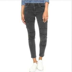 SIWY Ladonna High Waisted Skinny Crop Jeans